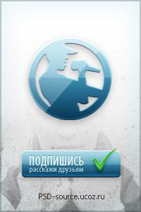 psd шаблон аватарки для группы вконтакте